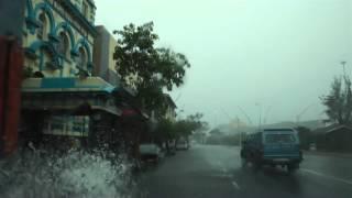 Tropical Storm Irina  hits Durban
