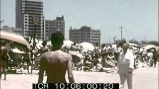 1950s African Journey, Durban port and beach