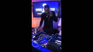 Idris Elba rocking a party in Durban