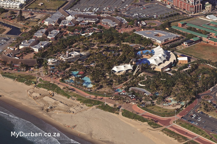 Aerial View of Ushaka